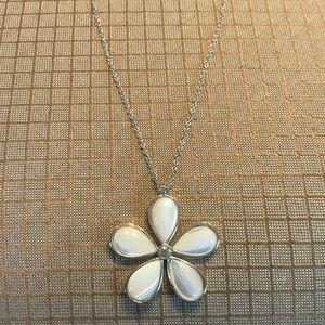 Dogwood pendant necklace